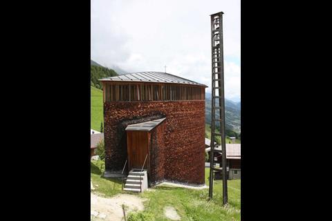 Peter Zumthor's Saint Benedict Chapel, Sumvitg, Switzerland 1989